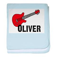 Guitar - Oliver baby blanket