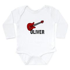 Guitar - Oliver Long Sleeve Infant Bodysuit