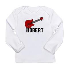 Guitar - Robert Long Sleeve Infant T-Shirt