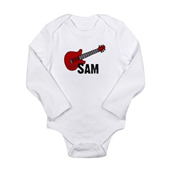 Guitar - Sam Long Sleeve Infant Bodysuit