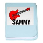 Guitar - Sammy baby blanket