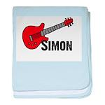 Guitar - Simon baby blanket