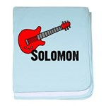 Guitar - Solomon baby blanket