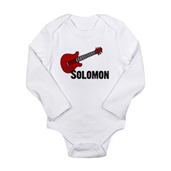 Guitar - Solomon Long Sleeve Infant Bodysuit