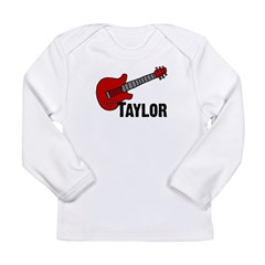 Guitar - Taylor Long Sleeve Infant T-Shirt