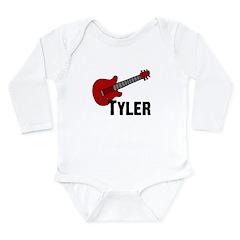 Guitar - Tyler Long Sleeve Infant Bodysuit