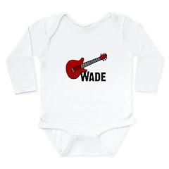 Guitar - Wade Long Sleeve Infant Bodysuit