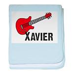 Guitar - Xavier baby blanket