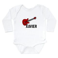Guitar - Xavier Long Sleeve Infant Bodysuit