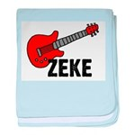 Guitar - Zeke baby blanket