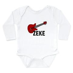 Guitar - Zeke Long Sleeve Infant Bodysuit