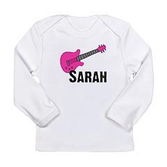 Guitar - Sarah Long Sleeve Infant T-Shirt