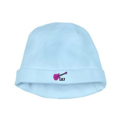 Guitar - Lily - Pink baby hat