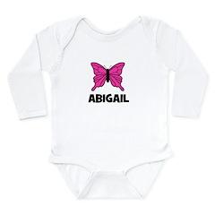 Butterfly - Abigail Long Sleeve Infant Bodysuit