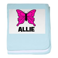 Butterfly - Allie baby blanket