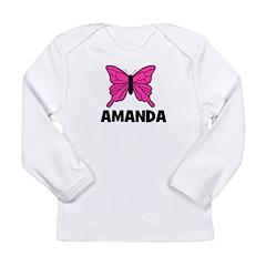 Butterfly - Amanda Long Sleeve Infant T-Shirt