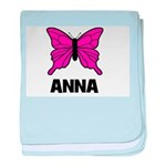 Butterfly - Anna baby blanket
