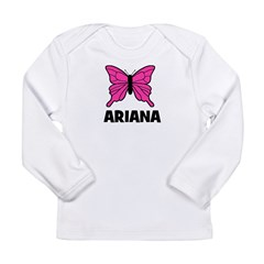 Butterfly - Ariana Long Sleeve Infant T-Shirt