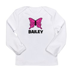 Butterfly - Bailey Long Sleeve Infant T-Shirt