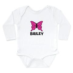 Butterfly - Bailey Long Sleeve Infant Bodysuit
