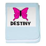 Butterfly - Destiny baby blanket