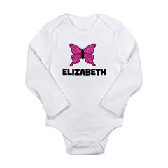Butterfly - Elizabeth Long Sleeve Infant Bodysuit