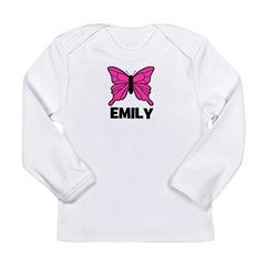Butterfly - Emily Long Sleeve Infant T-Shirt