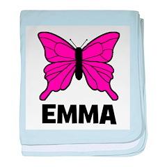 Butterfly - Emma baby blanket