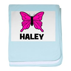 Butterfly - Haley baby blanket