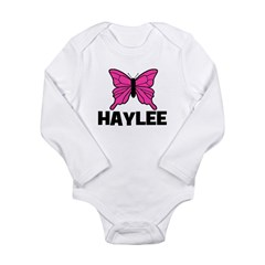 Butterfly - Haylee Long Sleeve Infant Bodysuit