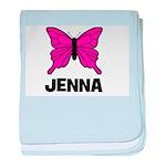 Butterfly - Jenna baby blanket