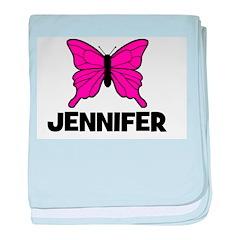 Butterfly - Jennifer baby blanket