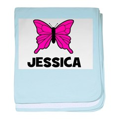 Butterfly - Jessica baby blanket