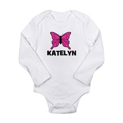 Butterfly - Katelyn Long Sleeve Infant Bodysuit