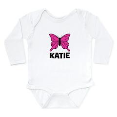 KATIE - Butterfly Long Sleeve Infant Bodysuit