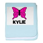 Butterfly - Kylie baby blanket