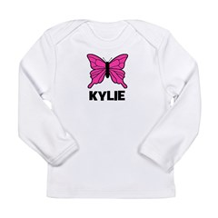 Butterfly - Kylie Long Sleeve Infant T-Shirt