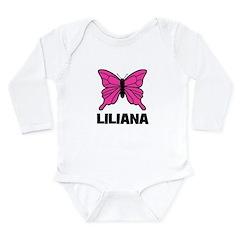 Liliana - Butterfly Long Sleeve Infant Bodysuit