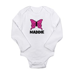 Butterfly - Maddie Long Sleeve Infant Bodysuit