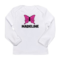 Butterfly - Madeline Long Sleeve Infant T-Shirt