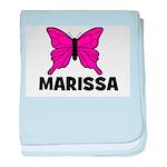 Butterfly - Marissa baby blanket