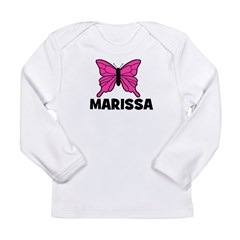 Butterfly - Marissa Long Sleeve Infant T-Shirt