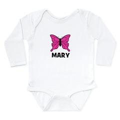 Butterfly - Mary Long Sleeve Infant Bodysuit