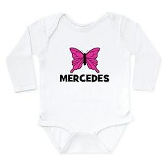 Butterfly - Mercedes Long Sleeve Infant Bodysuit