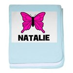 Butterfly - Natalie baby blanket