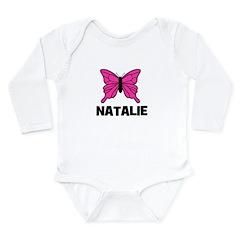 Butterfly - Natalie Long Sleeve Infant Bodysuit