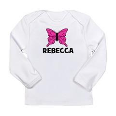 Butterfly - Rebecca Long Sleeve Infant T-Shirt