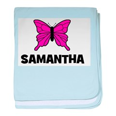 Butterfly - Samantha baby blanket