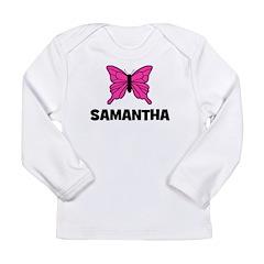 Butterfly - Samantha Long Sleeve Infant T-Shirt
