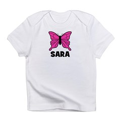 Butterfly - Sara Infant T-Shirt